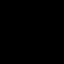 Black WordPress Icon 64x64 png