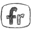 Bw Flickr Icon 64x64 png