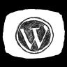 Bw WordPress Icon 96x96 png