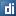 Social Digg Box Blue Icon 16x16 png