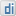 Social Digg Box White Icon 16x16 png