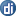 Social Digg Button Blue Icon 16x16 png