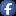 Social Facebook Button Blue Icon 16x16 png