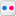 Social Flickr Box Icon 16x16 png