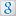 Social Google Box White Icon 16x16 png