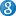 Social Google Button Blue Icon 16x16 png