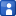 Social Myspace Box Blue Icon 16x16 png