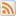 Social RSS Box White Icon 16x16 png