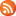 Social RSS Button Orange Icon 16x16 png