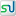 Social StumbleUpon Box White Icon 16x16 png