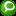 Social Technorati Button Green Icon 16x16 png
