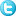 Social Twitter Button Blue Icon 16x16 png