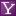 Social Yahoo Box Lilac Icon 16x16 png