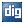 Social Digg Box Blue Icon 24x24 png