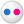 Social Flickr Button Icon 24x24 png