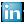 Social LinkedIn Box Blue Icon 24x24 png