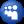Social Myspace Button Blue Icon 24x24 png