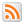 Social RSS Box White Icon 24x24 png