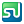 Social StumbleUpon Box Color Icon 24x24 png