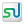 Social StumbleUpon Box White Icon 24x24 png