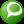 Social Technorati Button Green Icon 24x24 png