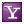 Social Yahoo Box Lilac Icon 24x24 png