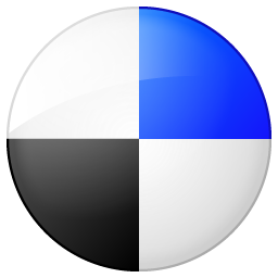 Social Delicious Button Icon 256x256 png