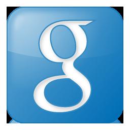 Social Google Box Blue Icon 256x256 png
