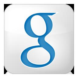 Social Google Box White Icon 256x256 png