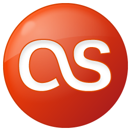 Social Last.fm Button Red Icon 256x256 png