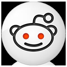 Social reddit Button Icon 256x256 png