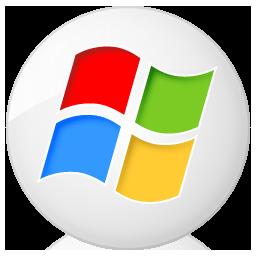 Social Windows Button Icon 256x256 png