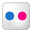 Social Flickr Box Icon 32x32 png