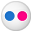 Social Flickr Button Icon 32x32 png