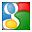 Social Google Box Icon 32x32 png