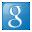 Social Google Box Blue Icon 32x32 png