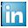 Social LinkedIn Box Blue Icon 32x32 png