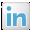 Social LinkedIn Box White Icon 32x32 png
