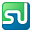 Social StumbleUpon Box Color Icon 32x32 png