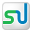 Social StumbleUpon Box White Icon 32x32 png