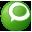 Social Technorati Button Green Icon 32x32 png
