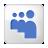 Social Myspace Box White Icon 48x48 png