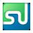 Social StumbleUpon Box Color Icon 48x48 png