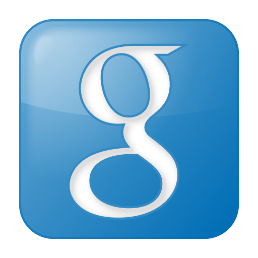 Social Google Box Blue Icon 512x512 png