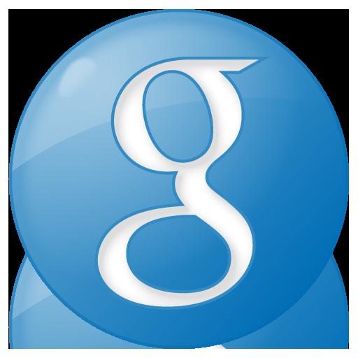 Social Google Button Blue Icon 512x512 png