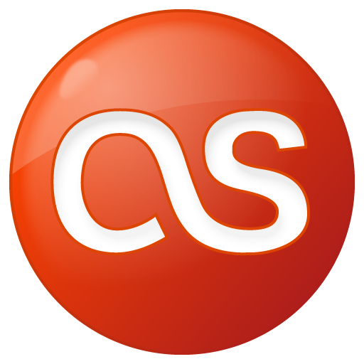 Social Last.fm Button Red Icon 512x512 png