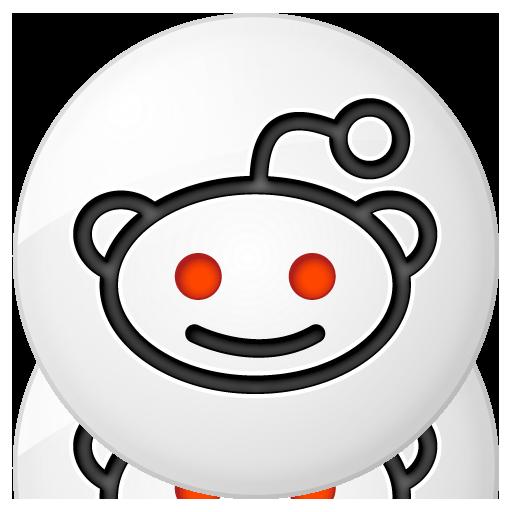 Social reddit Button Icon 512x512 png