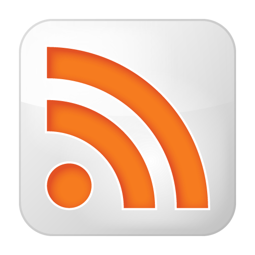 Social RSS Box White Icon 512x512 png