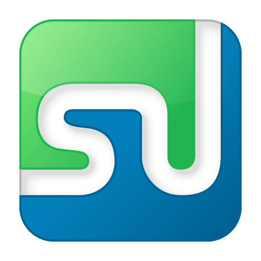 Social StumbleUpon Box Color Icon 512x512 png