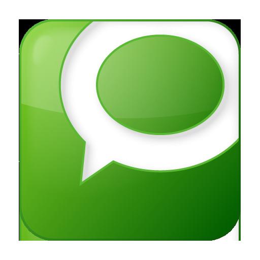 Social Technorati Box Green Icon 512x512 png